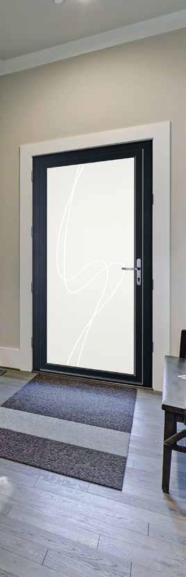 Portes d'entrée PVC